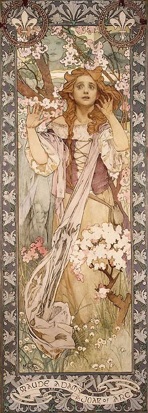 Maud Adams As Joan Of Arc